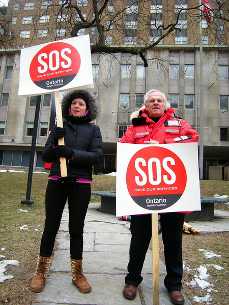 Ontario Health Coalition 'Save Our Services' Rally
