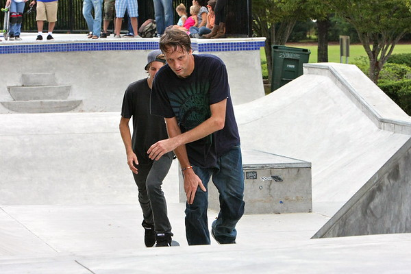 Tony Hawk at Owens Field