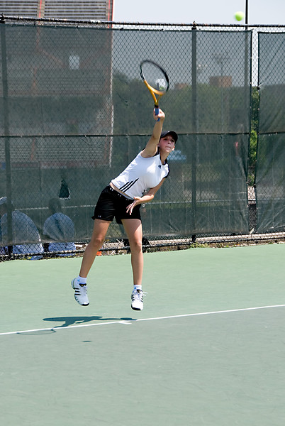 MD State Tennis Championship--Loren Wohlman of Walter Johnson HS
