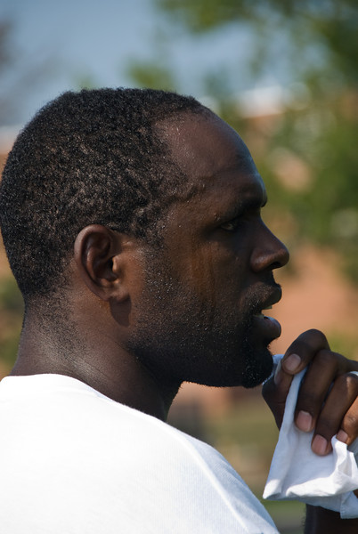 Preseason Practice Aug 2007--WJHS soccer coach