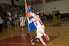 Wootton's Chris Cohen drives to the basket.
