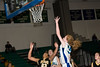 Jr forward Marlena Phillips powers to the net for a layup