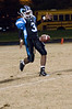 Whitman sr.. QB (and many other positions) Anthony Young-Wiseman punts