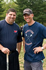 Wootton HS Lacrosse coaches Jon Romm and Colin Thomson.  Coach Thomson conceived of the Community Lacrosse Day several years ago and has worked to make it grow larger each year.
