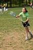 Cara Traub (11 yrs old) of Cabin John MS put several shots past the goalie.