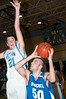 Luke Fishman, Churchill is guarded by Sam Walsh, Whitman