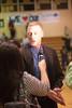 Matt Miller, Churchill coach, is interviewed after his team's victory