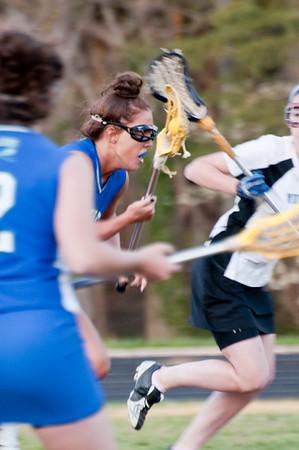 Girls Lacrosse Churchill vs Whitman