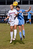 Kayla Murray, Wootton Jr. with a header
