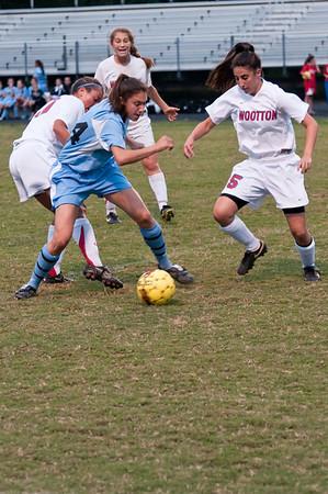 Girls Soccer Whitman vs Wootton
