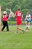 Hannah Baron Churchill Sr fires a shot on goal.