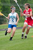 Katie Ruben Churchill Soph tries to get past Daniella Hanacek Wootton Soph