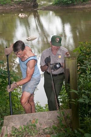 Volunteers Repair C&O Canal