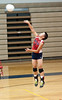 Jenn Chen of Wootton with her amazing serve.