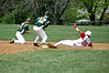 Photo by Ira Levine. #16 slides into second.