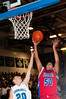 Nitin Potarazu Sr Wootton shoots over Churchill Sr Pedro Alvarado.