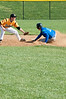 Harris Fanaroff slides into second and is safe.