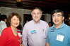 Maraguerite and Pat Sung (Nuskin) flank Neil Cohen who is a Republican candidate for the US Senate, will run in the primary in September.