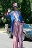 A tall Uncle Sam