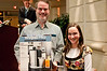 Myron Wakschlag of Silver Spring and his daughter Ahuva, win the Juice Extractor prize.
