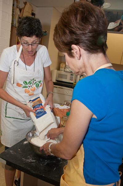 Now comes the flour