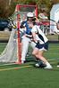 Isabelle King of Bullis tries to put one past O'Connell goalie Tara Ulepic