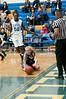 Rachel Sisco dives for a loose ball.