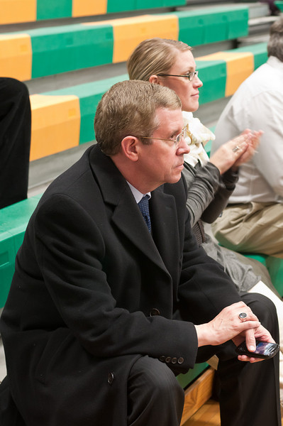 Whitman HS's Principal, Dr. Alan Goodwin, is a frequent spectator at Whitman HS athletic events.