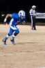 Wide receiver Dominique Williams caught a touchdown pass on the first drive to give Churchill a 7-0 lead.