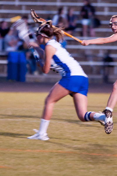 Maddie Flax fires a shot at the net and scores another goal.