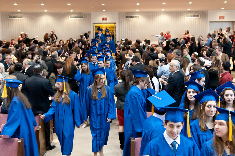 The Procession of the graduates