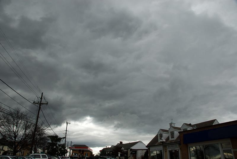 Potomac Day -- Dramatic weather at Potomac Day celebration