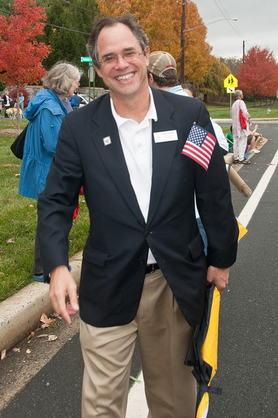 Potomac Day Parade: Councilman Roger Berliner who represents Potomac on the Montgomery County Council