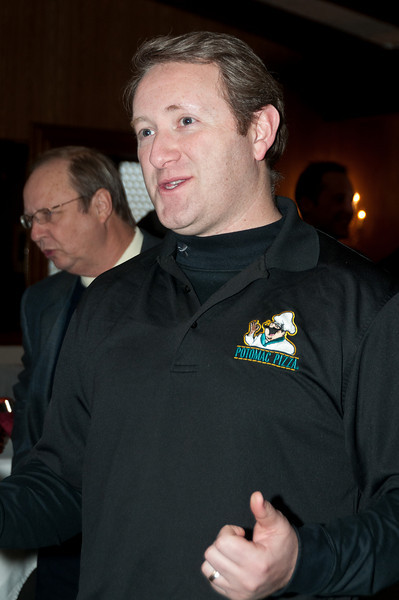 Adam Greenberg, President of the Potomac Chamber of Commerce and owner of Potomac Pizza
