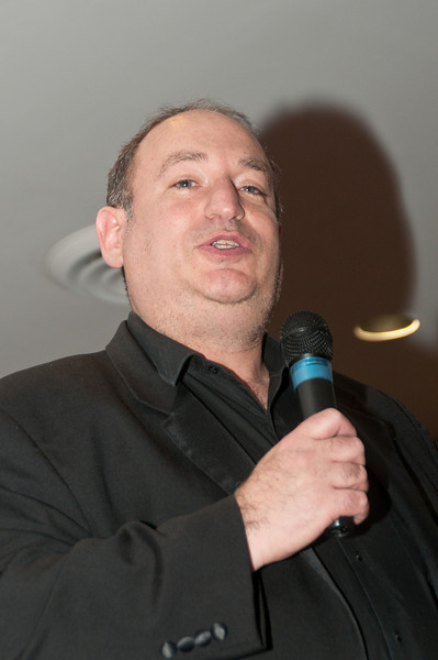 "Ronnie Baras, known as the ""Kosher Hypnotist"", provides the first part of the night's on-stage entertainment."