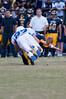 Jake Cantor sacs the BCC QB causing a fumble.