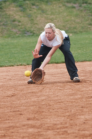 Churchill Softball Practice