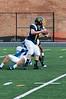 Jake Longenecker pressures the quarterback.