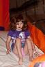 Elizabeth Willard (5 years old) goes down the slide.