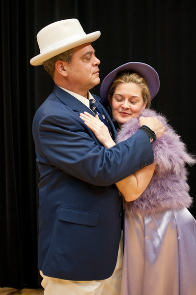 Simon Mostyn (Tony Pisarra) and Kay Ridgeway-Mostyn (Charlene Sloan)
