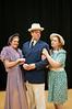 Kay Ridgeway-Mostyn (Charlene Sloan), Simon Mostyn (Tony Pisarra), and Jaqueline De Serverac (Erin Gallalee)