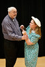 Canon Pennefather (Bill Byrnes) and Jaqueline De Serverac (Erin Gallalee)