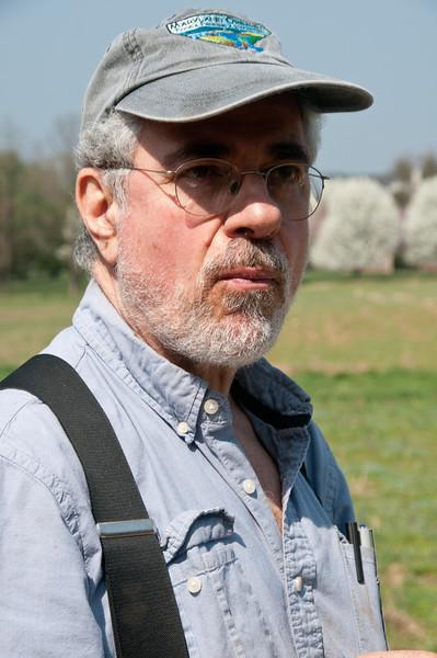 Nick Maravell, long-time renter of the farm on Brickyard Rd.