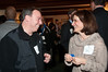 Jeffrey Lobel of WCS Lending talks with Lisa Abrams of REMAX Realty.