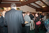A crowd of almost 60 people turned out for the Potomac Chamber of Commerce mixer.