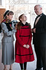 "Grace Farrell (Lauren-Nicole Gabel), Annie (Annie Coulson), and Oiver ""Daddy"" Warbucks (Ed Spitzberg)"
