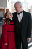 "Annie (Annie Coulson) and Oiver ""Daddy"" Warbucks (Ed Spitzberg)"