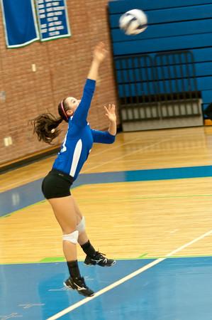 Churchill-Whitman Volleyball