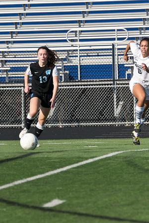 Whitman Girls Soccer 141018
