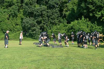 Whitman Football Practice